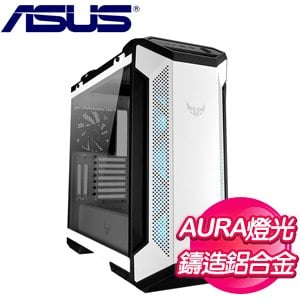 ASUS 華碩 TUF Gaming GT501 White Edition 玻璃透側 E-ATX電腦機殼《白》