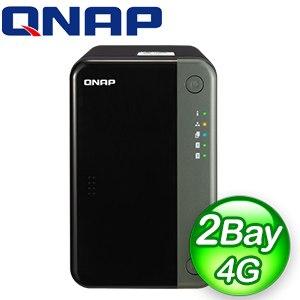 QNAP 威聯通 TS-253D-4G 2-Bay NAS 網路儲存伺服器(不含硬碟)