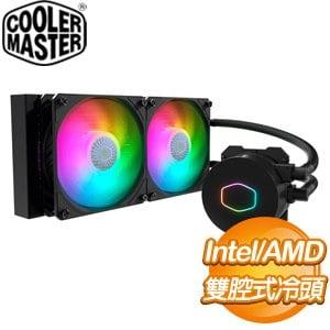 Cooler Master 酷碼 MasterLiquid ML240L V2 ARGB 水冷散熱器(附控制器)