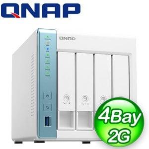 QNAP 威聯通 TS-431P3-2G 4-Bay NAS 網路儲存伺服器(不含硬碟)