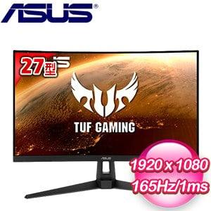 ASUS 華碩 TUF Gaming VG27VH1B 27型 1500R 曲面電競螢幕