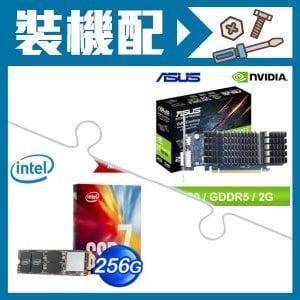 華碩 GT1030-2G-顯示卡+Intel 760p 256G M.2 SSD