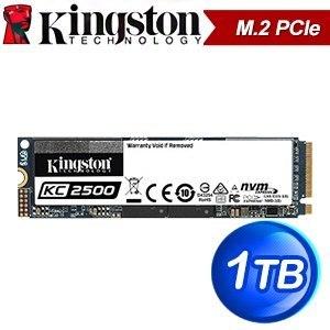 Kingston 金士頓 KC2500 1TB M.2 PCIe SSD固態硬碟【五年保】(讀:3500M/寫:2900M/TLC)