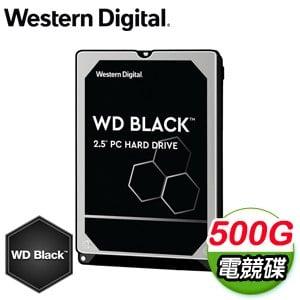 WD 威騰 500G 2.5吋 7200轉 黑標電競硬碟(WD5000LPSX-5Y)