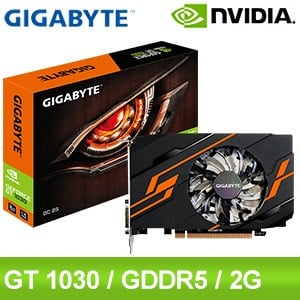 Gigabyte 技嘉 GT1030 OC 2G 顯示卡