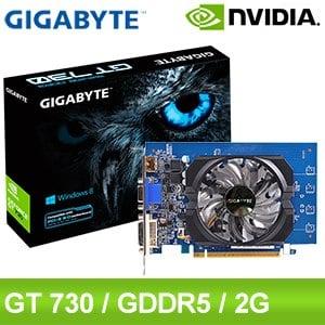 Gigabyte 技嘉 GT730 D5 2G 顯示卡