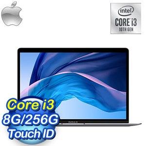 Apple MacBook Air 13吋 1.1GHz第10代i3/8G/256G 筆記型電腦(MWTJ2TA/A)《太空灰》