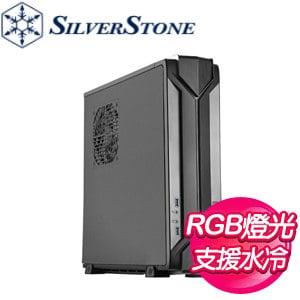 SilverStone 銀欣 RVZ03B 小烏鴉3 RGB機殼《黑》(ITX/顯卡330mm/CPU散熱83mm)