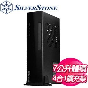 SilverStone 銀欣 ML09 機殼《黑》(ITX/短板顯卡175mm/CPU散熱37(70)mm/SFX電源) ML09
