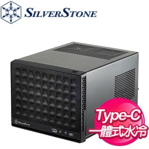 SilverStone 銀欣 SG13 Type-C 機殼《黑》(ITX/顯卡長270mm/CPU高61mm) SG13B-C