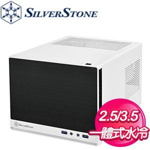 SilverStone 銀欣 SG13 拉絲機殼《白黑》(ITX/顯卡長270mm/CPU高61mm) SG13WB-Q