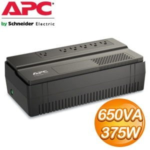 APC Easy-UPS 650VA 在線互動式不斷電系統 (BV650-TW)