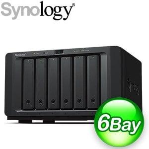 Synology 群暉 DS1621XS+ 6-Bay NAS 網路儲存伺服器