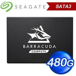 Seagate 希捷 BarraCuda Q1 480GB 2.5吋 SSD固態硬碟(讀:550M/寫:500M) ZA480CV1A001