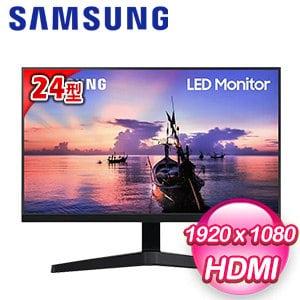 Samsung 三星 F24T350FHC 24型 IPS 窄邊框電腦螢幕