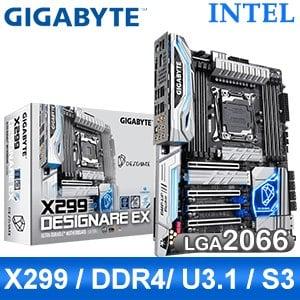 Gigabyte 技嘉 X299 DESIGNARE EX LGA2066主機板 (ATX/3+1年保)