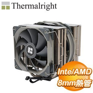 Thermalright 利民 Frost Spirit 140 CPU散熱器(雙風扇/高158mm)