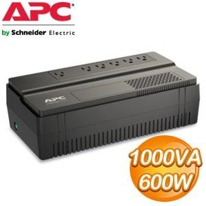 APC Easy-UPS 1000VA 在線互動式不斷電系統 (BV1000-TW)