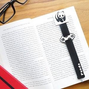 【OSHI歐士】指標書籤筆 -熊貓