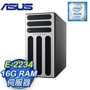 ASUS 華碩 TS300-E10-PS4 伺服器 (E-2234/16G) 90SF00S1-M00480