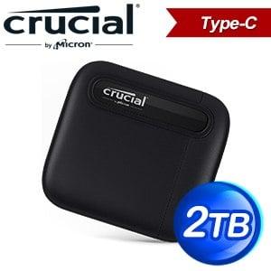 Micron 美光 Crucial X6 2TB U3.2 Type C外接式SSD