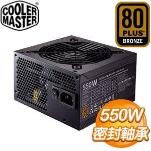 Cooler Master 酷碼 New GX Bronze 550W 銅牌 電源供應器(5年保) MPX-5501-ACAAB-T2