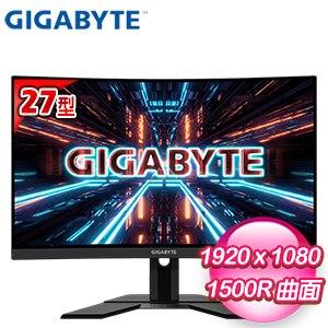 Gigabyte 技嘉 G27FC 27型 165Hz 1ms 1500R 曲面電競螢幕