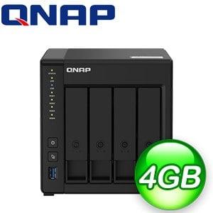 QNAP 威聯通 TS-451D2-4G NAS伺服器