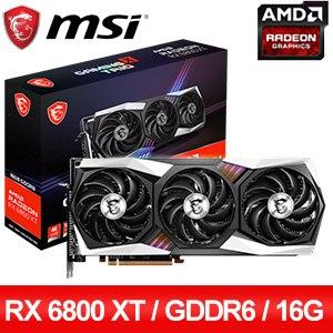 MSI 微星 Radeon RX 6800 XT GAMING X TRIO 16G 顯示卡