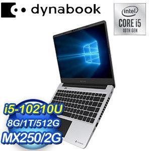 Dynabook Satellite PRO L40-G 14吋筆電-太空銀(i5-10210U/8GB/1TB+512GB SSD/Win10 Pro)