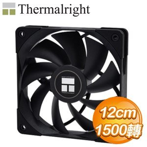 Thermalright 利民 TL-C12B 黑化版 12CM 風扇
