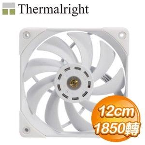 Thermalright 利民 TL-C12 PRO-W 12CM風扇《白》
