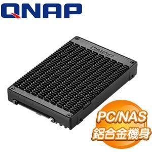 QNAP 威聯通 QDA-UMP M.2 PCIe NVMe 轉 U.2 PCIe NVMe SSD 轉接盒(PC/NAS共用)