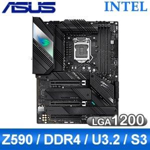 ASUS 華碩 ROG STRIX Z590-F GAMING WIFI LGA1200主機板 (ATX/3+2年保)