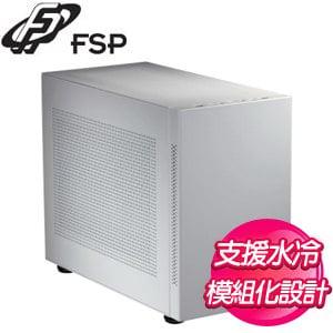 FSP 全漢 CST350 M-ATX電腦機殼《白》CST350(W)