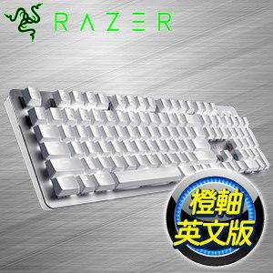 Razer 雷蛇 Pro Type 橘軸 英文 無線藍芽機械式鍵盤《白》RZ03-03070100-R3M1