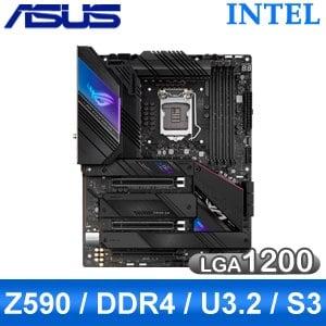ASUS 華碩 ROG STRIX Z590-E GAMING WIFI LGA1200主機板 (ATX/3+2年保)