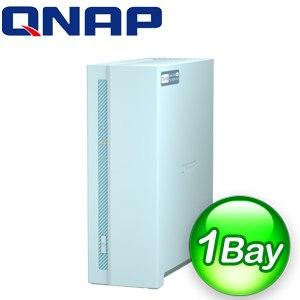 QNAP 威聯通 TS-130 1Bay 入門級家用 NAS網路儲存伺服器