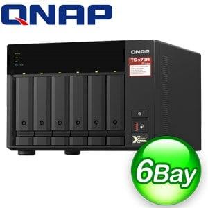 QNAP 威聯通 TS-673A-8G 6Bay NAS網路儲存伺服器