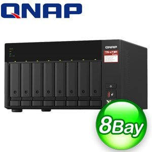 QNAP 威聯通 TS-873A-8G 8Bay NAS網路儲存伺服器