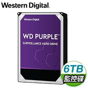 WD 威騰 6TB 3.5吋 5640轉 128MB快取 SATA3 紫標監控硬碟(WD62PURZ)