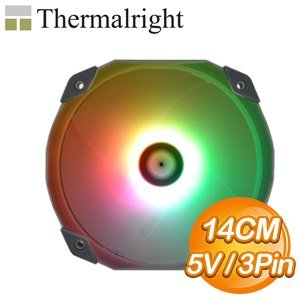 Thermalright 利民 TL-D14S ARGB 14CM機殼風扇