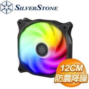 SilverStone 銀欣 穿甲彈 AB120R-ARGB 12CM 風扇
