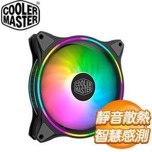 Cooler Master 酷碼 MasterFan MF140 HALO ARGB風扇《黑》