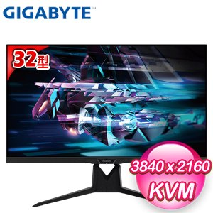 Gigabyte 技嘉 AORUS FI32U 32型 HDMI 2.1 4K 電競螢幕