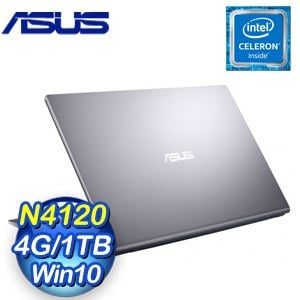 ASUS 華碩 X515MA-0341GN4120 星空灰 15.6吋文書筆電(N4120/4G/1TB)