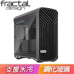 Fractal Design Torrent TG Light 淺玻璃透側 E-ATX機殼《灰》FD-C-TOR1A-02