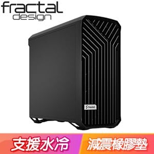 Fractal Design Torrent Black Solid E-ATX機殼《黑》FD-C-TOR1A-05