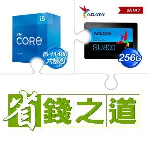 ☆自動省★ i5-11400(X2)+威剛 SU800 256G SSD(X4)