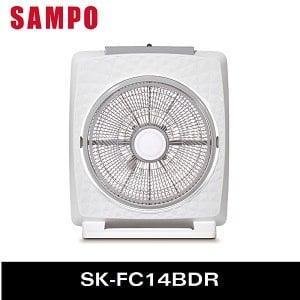 SAMPO 聲寶 14吋微電腦DC遙控箱扇 SK-FC14BDR